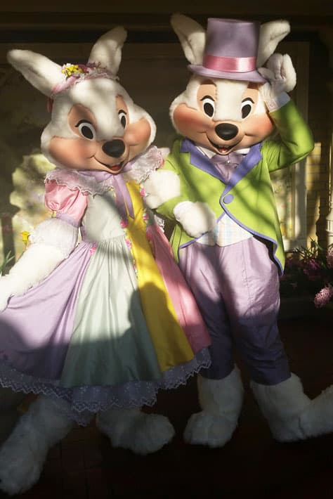 Meet the Easter Bunny at the Magic Kingdom in Disney World