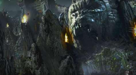 Skull Island Reign of Kong concept art King Kong