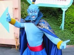 Aladdin's Genie in human form at Disneyland Paris