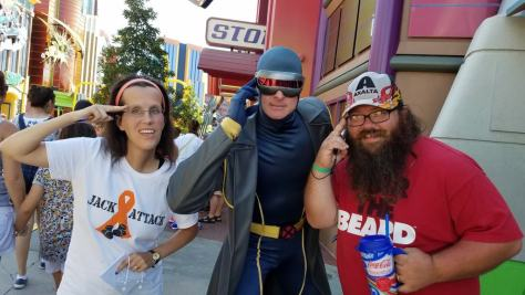 Universal Orlando Character Day with Ryan and Heather April 2016 (71) Cyclops