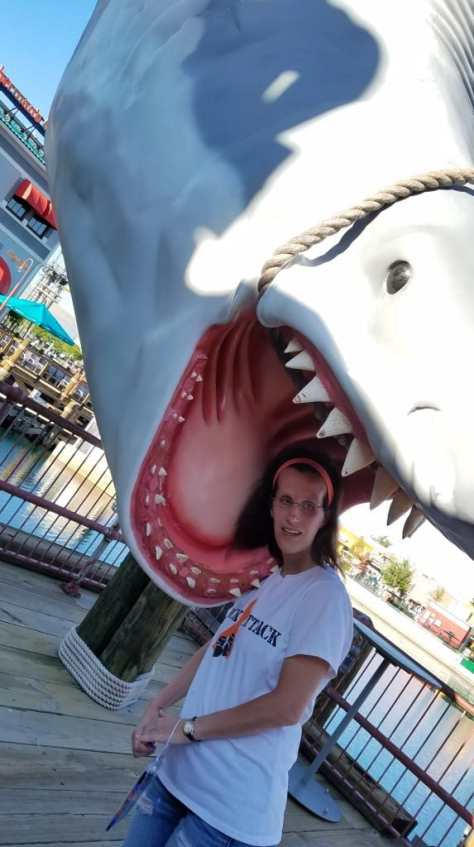 Universal Orlando Character Day with Ryan and Heather April 2016 (79) Jaws