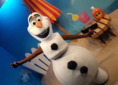 Olaf meet and greet in Hollywood Studios in Walt Disney World (7)