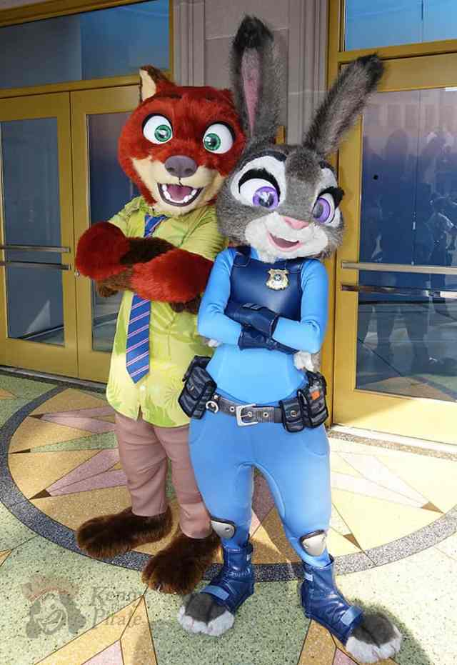 How to meet Nick and Judy from Zootopia at Disney California Adventure (2)