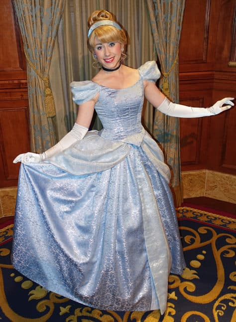 Meet Cinderella in Magic Kingdom at Walt Disney World (1)