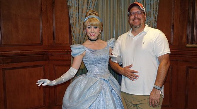 Princess aurora and tiana join the princess fairytale hall lineup in meet cinderella in magic kingdom at walt disney world 4 m4hsunfo