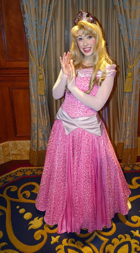 Meet Princess Aurora in Magic Kingdom at Walt Disney World (1)