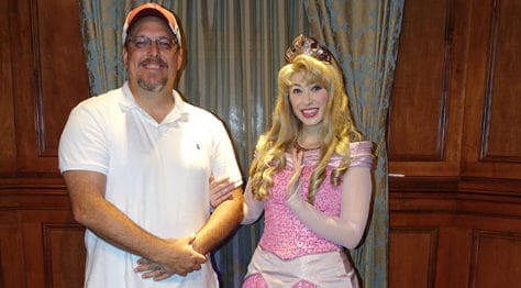 Meet Princess Aurora in Magic Kingdom at Walt Disney World (3)