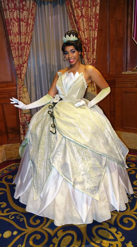 Meet Tiana at Magic Kingdom in Walt Disney World (1)