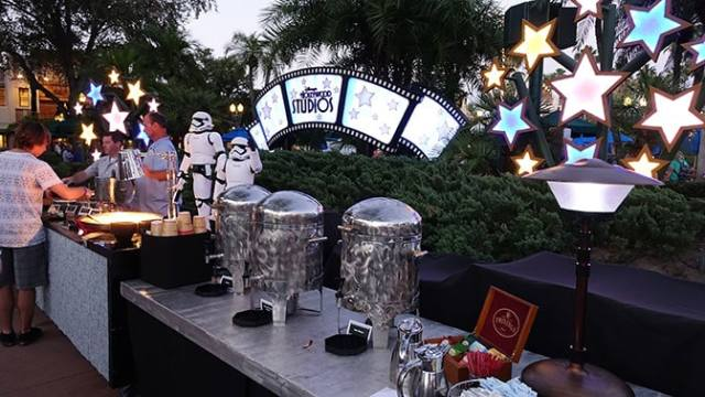 Star Wars A Galactic Spectacular Fireworks Dessert Party at Hollywood Studios in Walt Disney World (51)