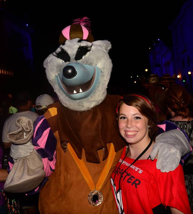 Sheriff of Nottingham at Villains Unleashed at Hollywood Studios August 2014