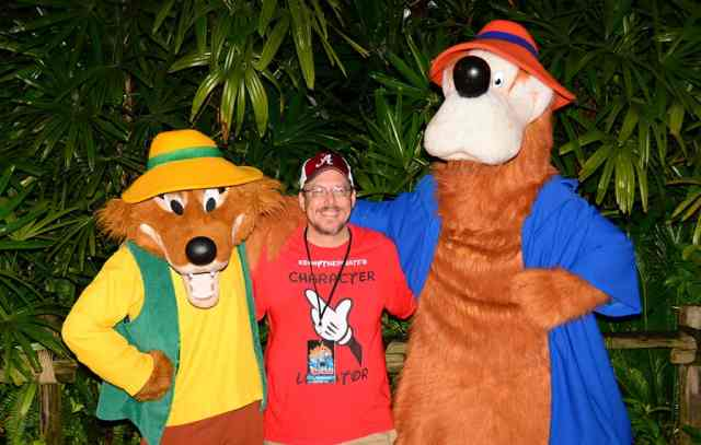 Brer Fox and Brer Bear at Villains Unleashed at Hollywood Studios August 2014