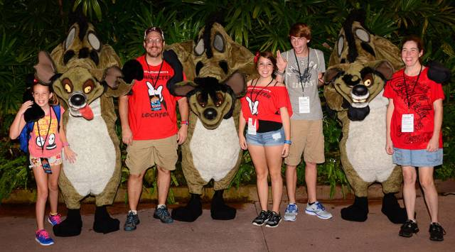 Lion King at Villains Unleashed at Hollywood Studios August 2014
