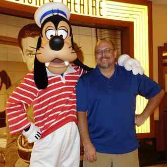 Goofy as Sailor onboard Disney Fantasy KennythePirate