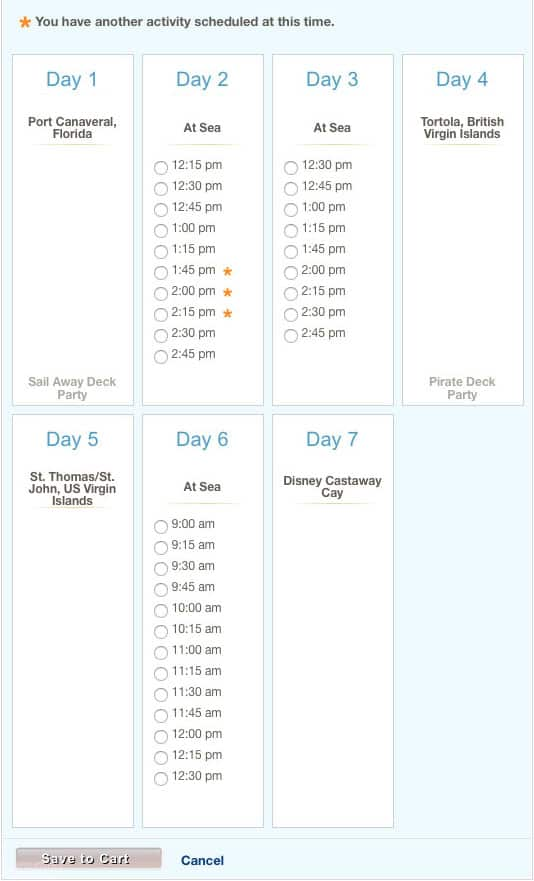 How to book special meet and greets on a Disney Cruise (8)