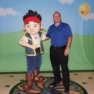 Jake onboard Disney Fantasy KennythePirate