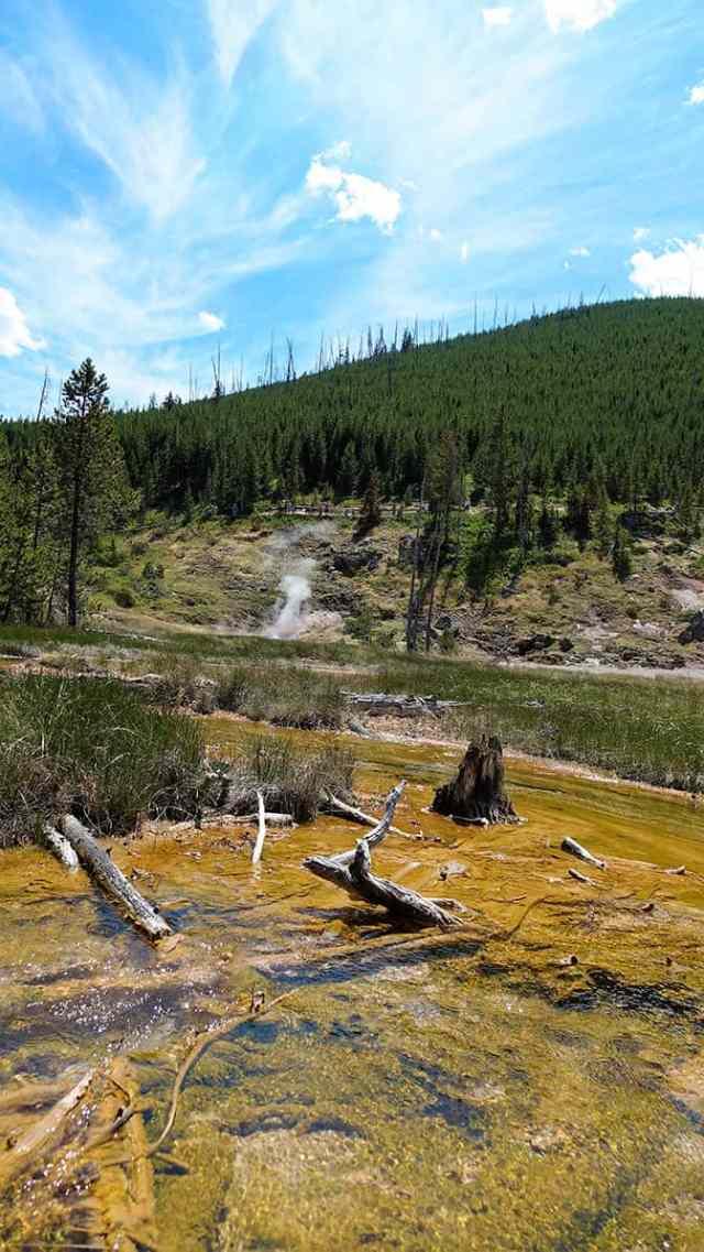 Yellowstone Day 2 Paint Pots