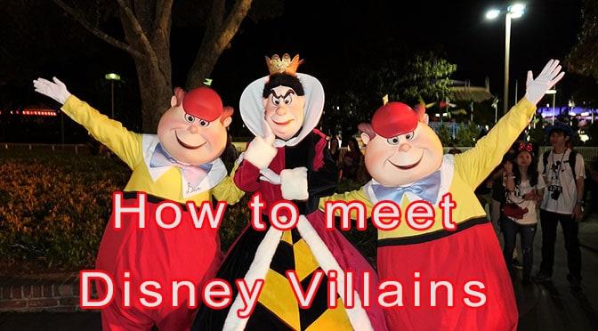 How To Meet Disney Villains At Walt Disney World Kennythepirate Com
