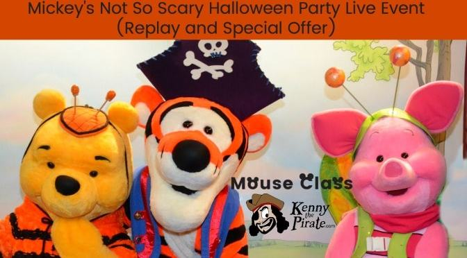 Mickey's Not So Scary Halloween Party Webinar now available for replay!