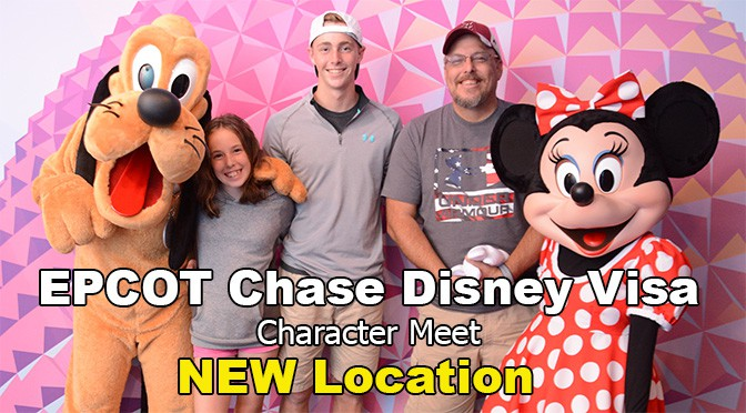character meet and greet at disney world chase