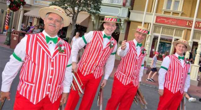 Dapper Dans at Mickey's Very Merry Christmas Party 2016