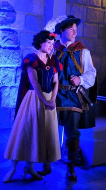 Snow White and Prince at Mickey's Very Merry Christmas Party 2016