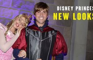 Disney Princes get GREAT new looks!