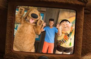 New animated Photopass MagicShot coming for Dug and Russell meet and greet