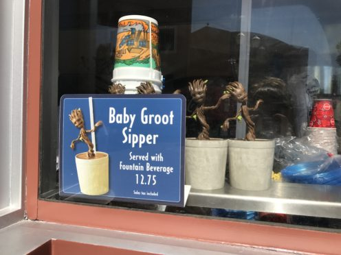 Review: Baby Groot Sipper Cup and Cupcake at Hollywood Studios