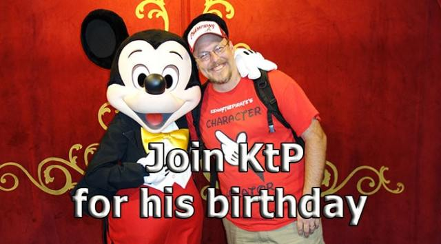 KennythePirate is turning 50 and you can join the celebration