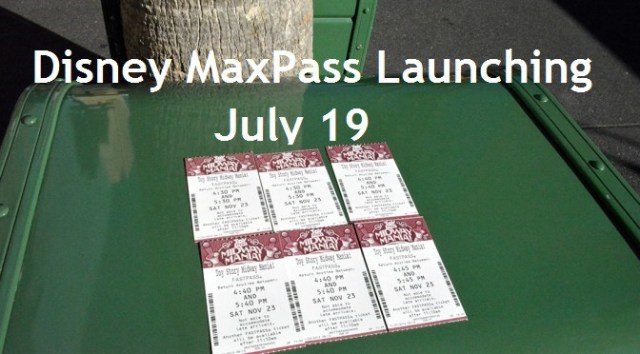 Disney MaxPass Launching July 19 at Disneyland Resort