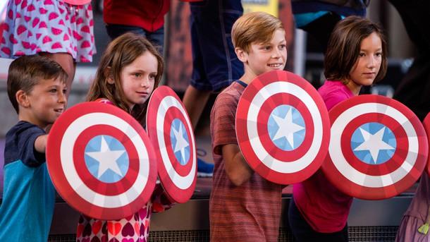 Summer of Heroes Photopass Memories at Disney's California Adventure
