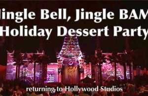 Jingle Bell Jingle BAM Holiday Dessert Party returning to Hollywood Studios