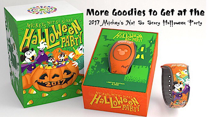 More Goodies to Get at the 2017 Mickey's Not So Scary Halloween Party