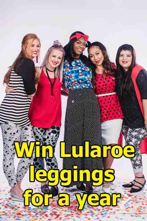 Win Lularoe leggings for a year!