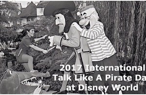 2017 International Talk Like A Pirate Day at Disney World