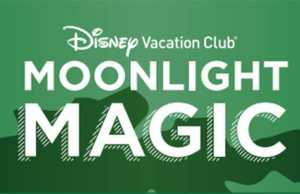 Schedule for Disney Vacation Club Moonlight Magic includes a GREAT character meet.