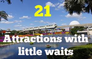 21 Attractions you can do at Walt Disney World with little or no waiting