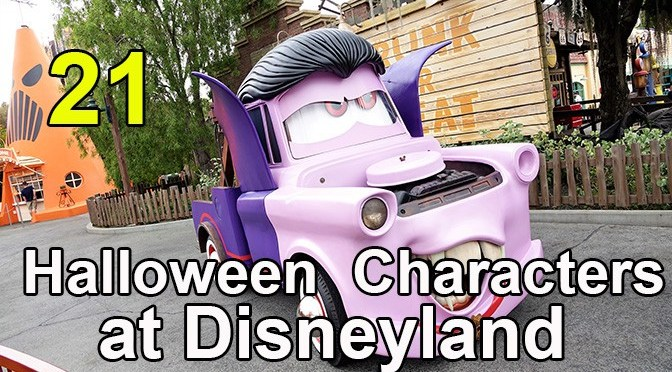 21 Great Halloween Characters at Disneyland