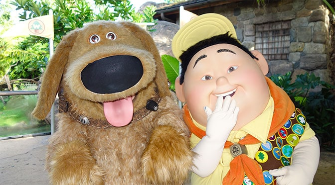 Disney World opens casting call for new Dug and Russell show in Animal Kingdom