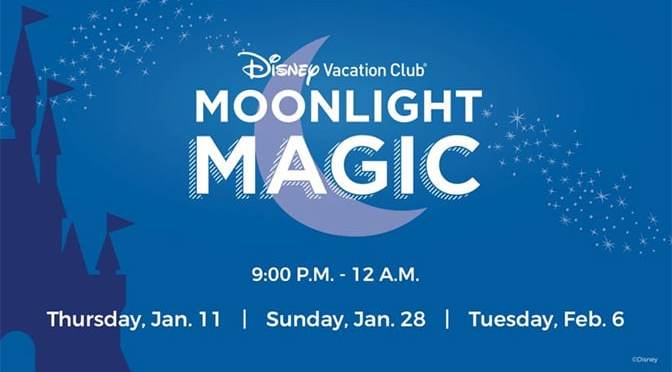 Full details released for Magic Kingdom DVC Moonlight Madness 2018 – It will be GREAT!