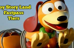 Hollywood Studios Fastpass+ Tiers when Toy Story Land opens