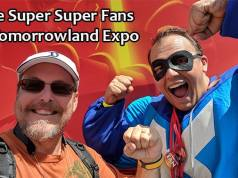Super Super Fans at the Tomorrowland Expo in Magic Kingdom