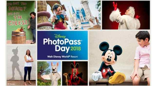 Full lineup for Disney PhotoPass Day 2018 revealed