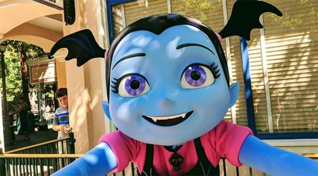 Vampirina now meeting guests at Disney's Hollywood Studios in Walt Disney World