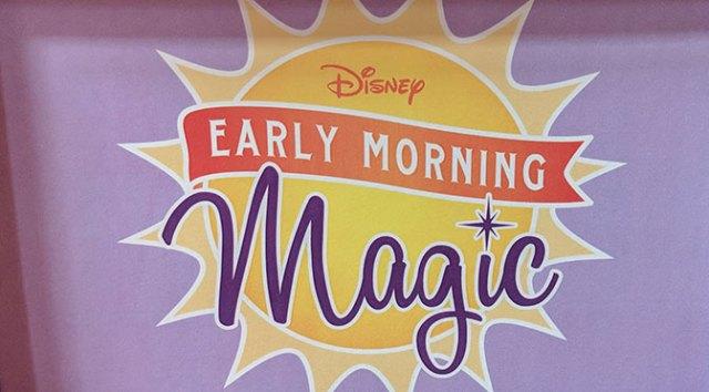Hollywood Studios Disney Early Morning Magic Review