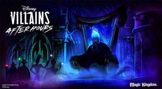 Disney Villains After Hours Returns to the Magic Kingdom!