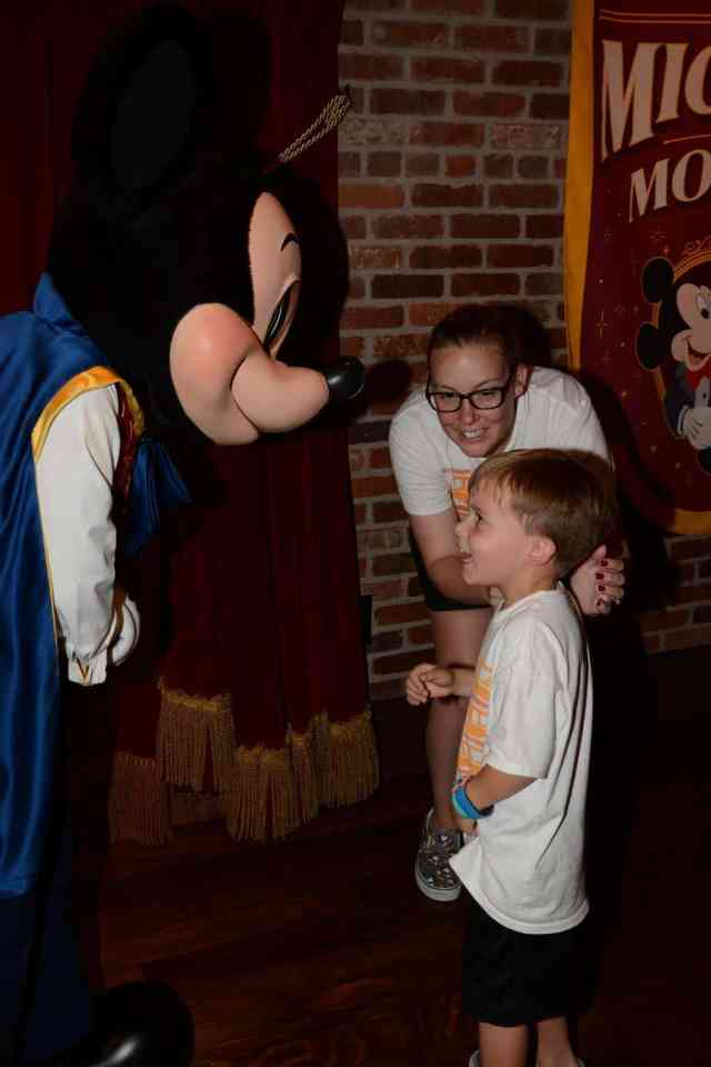 mickey candid