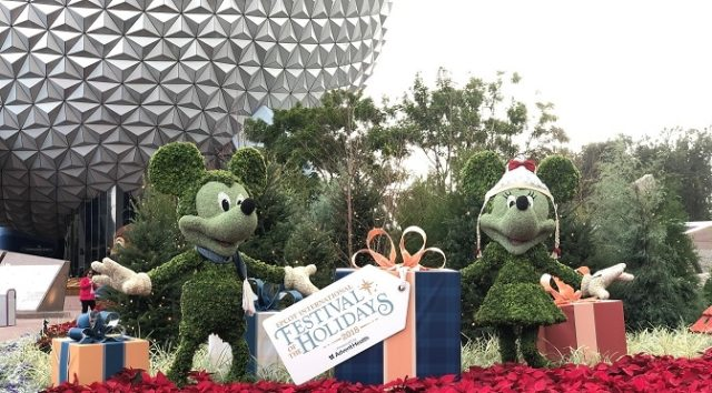 Holiday Kitchen Offerings and Cookie-Stroll Adventures to Take Place during the Epcot International Festival of the Holidays