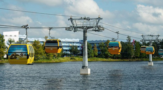 Skyliner Reopens for Guests (but will have modified hours this week)