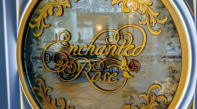 Enchanted Rose Lounge at Grand Floridian Resort is now officially open!